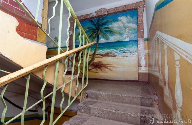 Neįprastas namas Kijeve