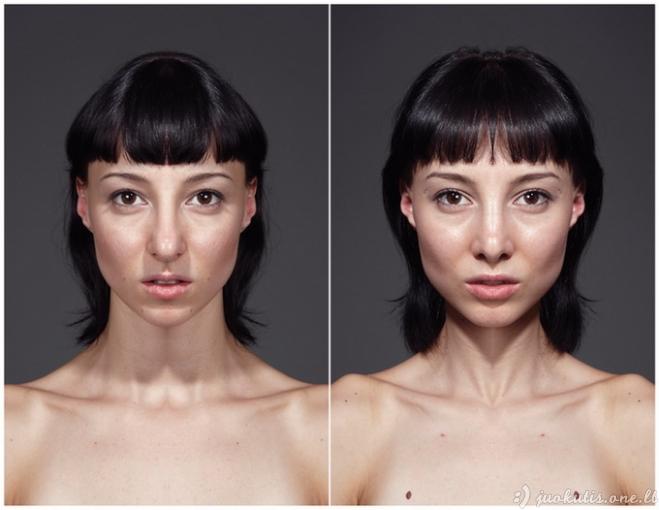 Simetriškas veidas