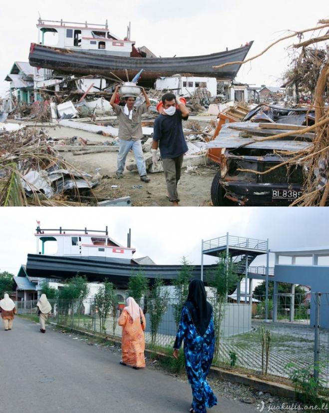 Metai po katastrofų