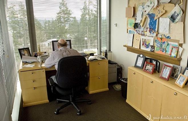 Didžiųjų bosų darbo vietos