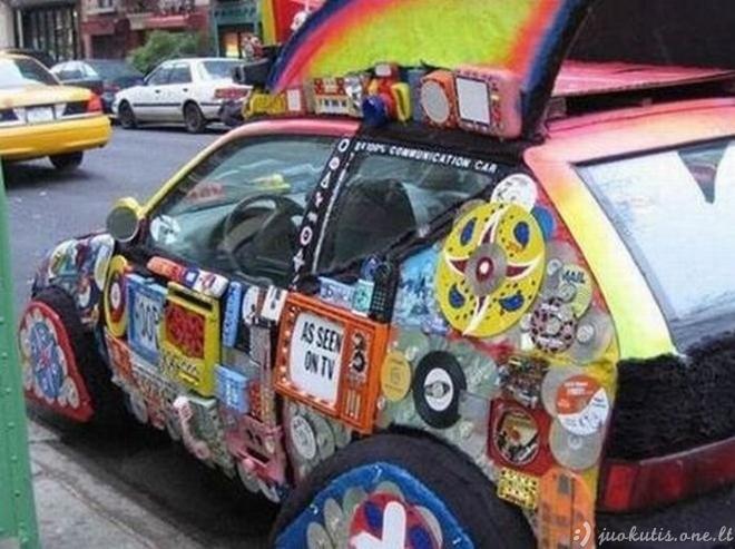 Beprotiški automobiliai