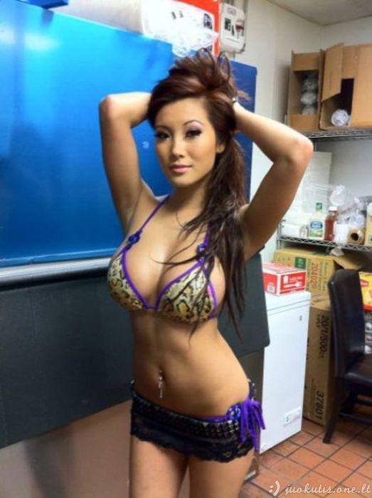 Gražios azijietės