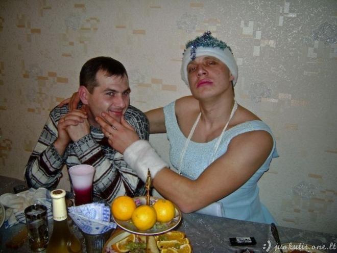 Vestuvės Rusijos provincijoje