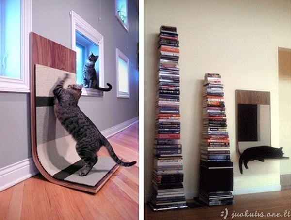 Originalūs baldai jūsų katėms
