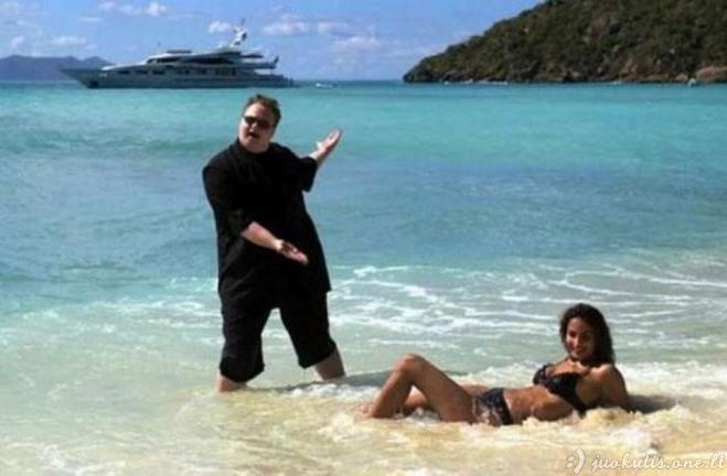 Absurdiškos situacijos paplūdimiuose