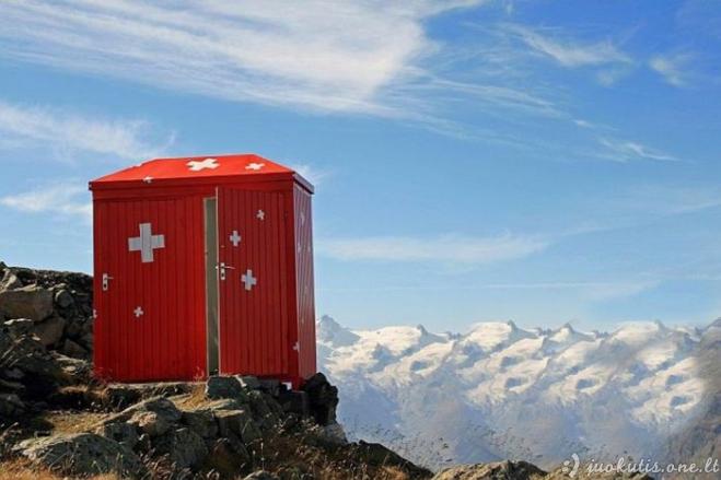 Ekstremalūs tualetai - geriausias vaistas nuo vidurių užkietėjimo