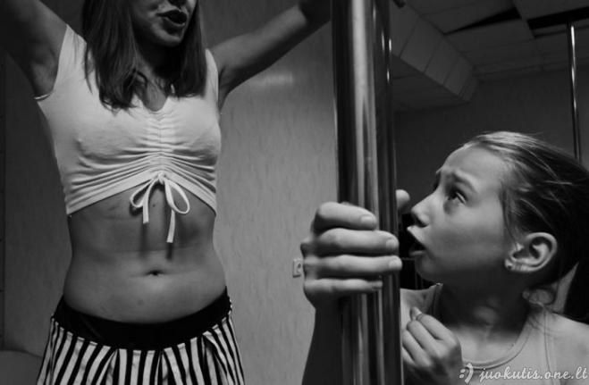 Vaikiškas Pole dance būrelis