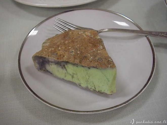 Akmenys, panašūs į maistą