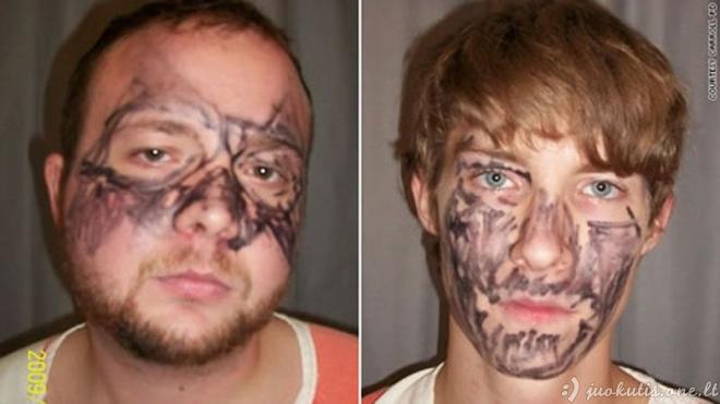 Juokingiausi Amerikos nusikaltėlių veidai