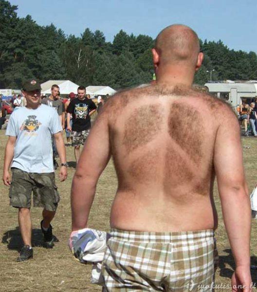 Ką daryti, jei tavo nugara plaukuota