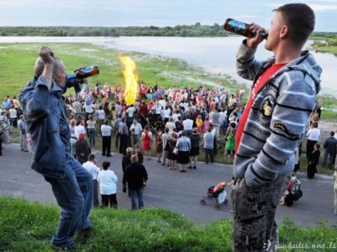 Daugiausia alkoholio suvartojančios tautos