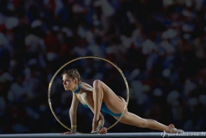 Moterys sporte