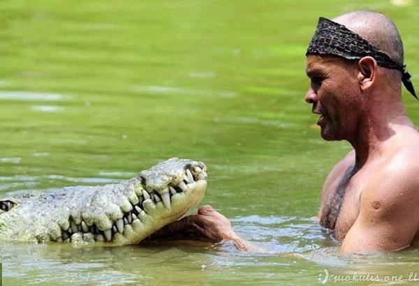 Geriausias draugas krokodilas