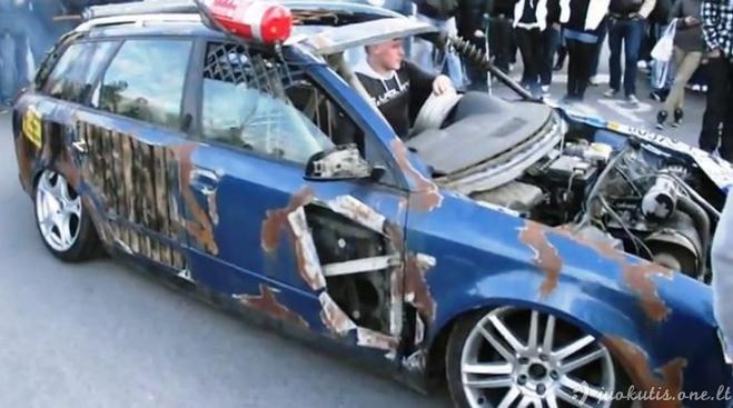 Antitiuningas keistų automobilių mėgėjams