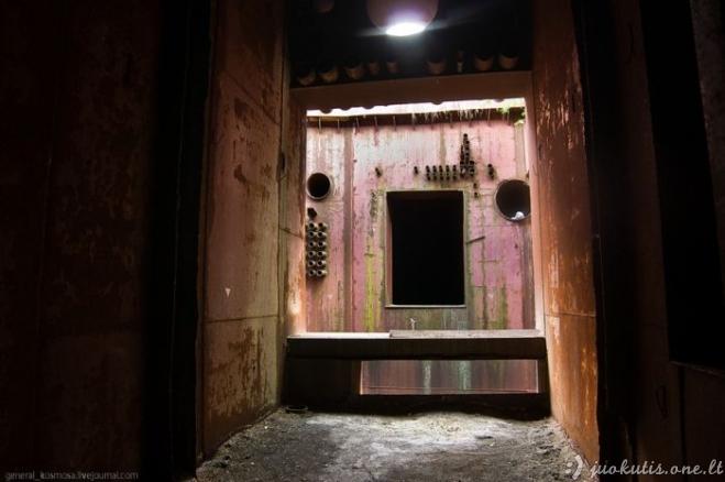 Slaptas bunkeris Moldavijoje