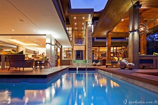 Prabangus namas Pietų Afrikoje
