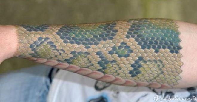 Gyvatės oda