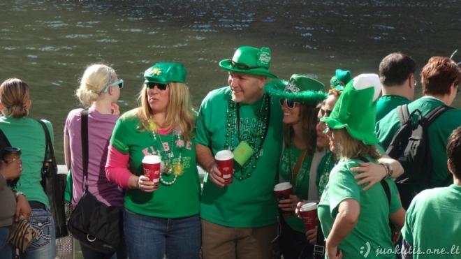 Žalias leprekonų kraujas upėje