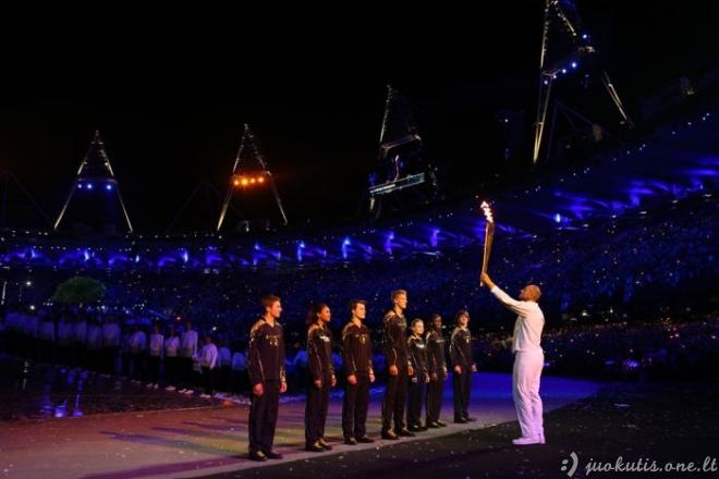 Olimpinių žaidynių atidarymas
