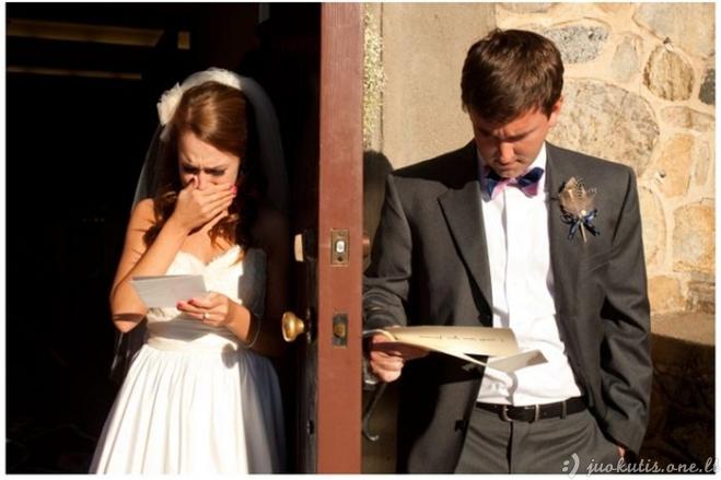 Santuokos priesaikų skaitymas per vestuves