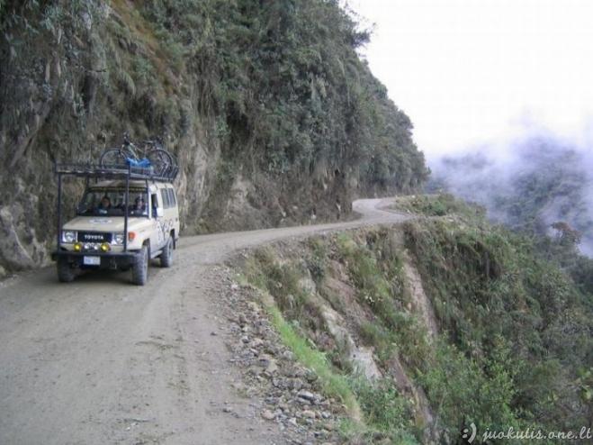 Mirties takas Bolivijoje