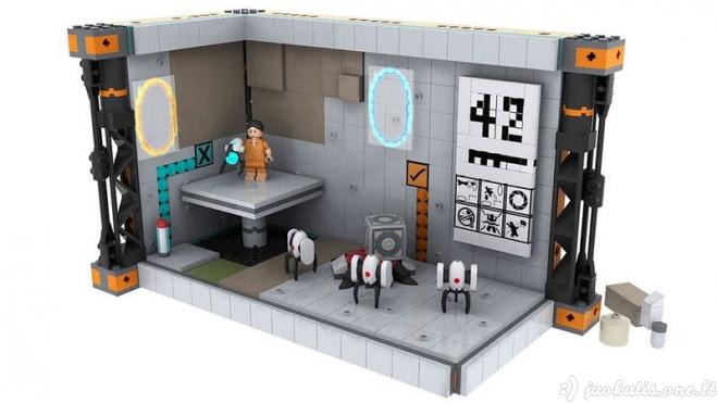 Visa tai padaryta iš Lego