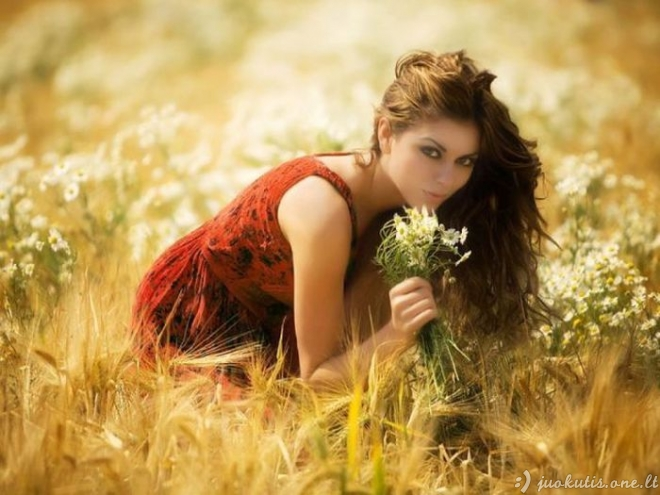 Pasakiško grožio merginos