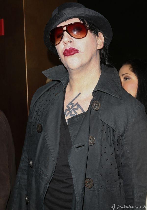 Kaip senukas Mansonas atrodo dabar