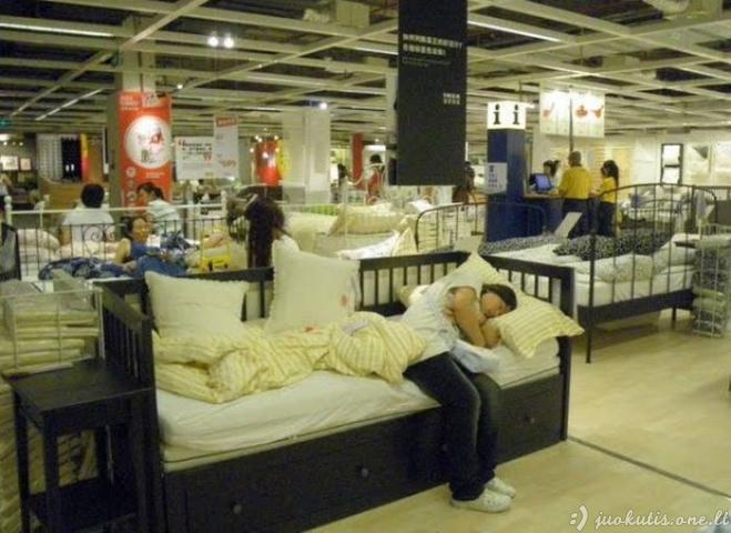 Kinai IKEA parduotuvėse