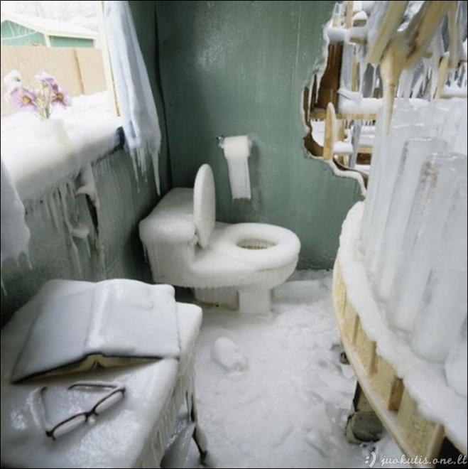 Kas nutiks, jei pamiršti uždaryti duris žiemai