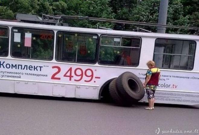 Tuo tarpu Rusijoje