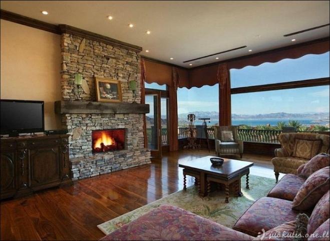 Nuostabus namas Nevadoje