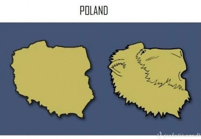 Linksmoji geografija