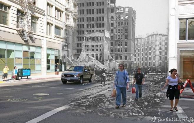 San Franciskas po žemės drebėjimo