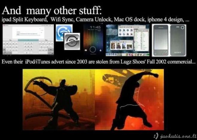 Ką iš tikrųjų išrado Apple