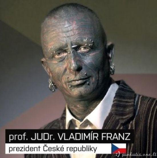 Labiausias tatuiruotas kandidatas į prezidentus