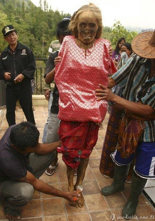 Indonezijoje priimta perrenginėti numirusius
