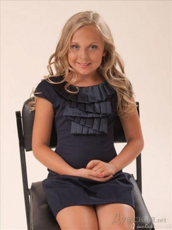 12-metė modelė iš Ukrainos