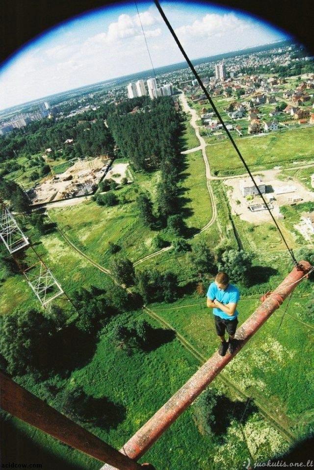Nesveikas ekstremalas iš Ukrainos