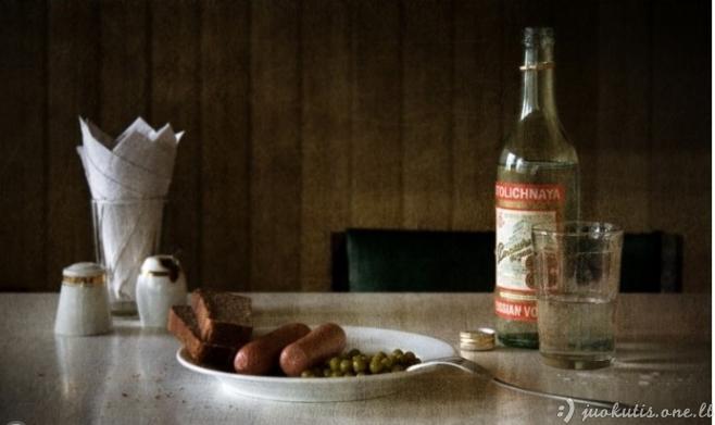 Sovietmetį menančios fotografijos