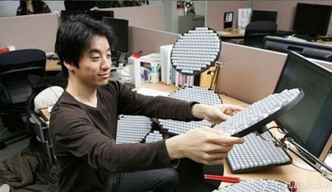 Tikro kiniečio klaviatūra