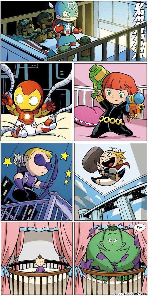 Mažieji Keršytojai(Avengers)