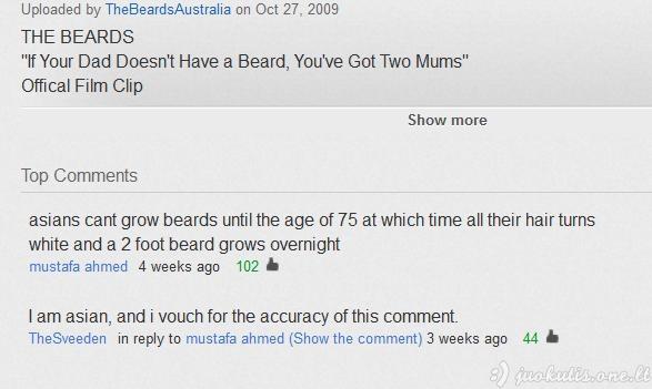 Geriausi youtube komentarai