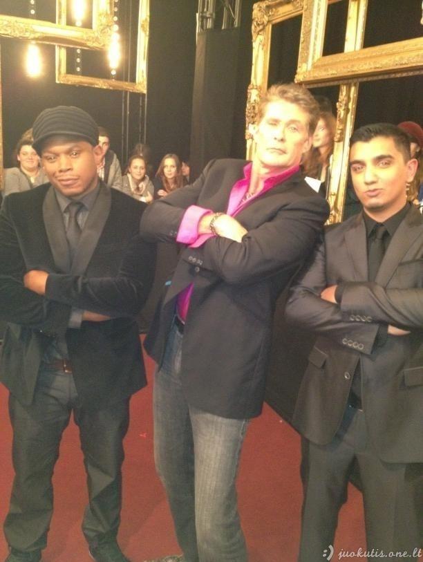 Davido Hasselhoffo šėlionės MTV apdovanojimuose