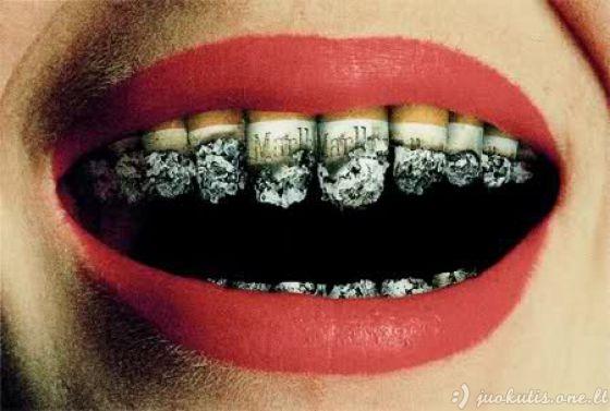 Išradingos prieš rūkymą nukreiptos reklamos