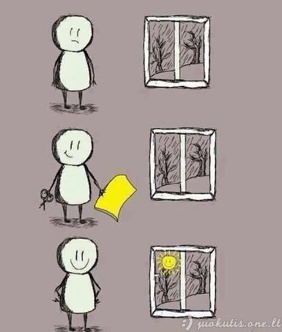 Jei tu nori šypsotis - niekas tavęs nesulaikys