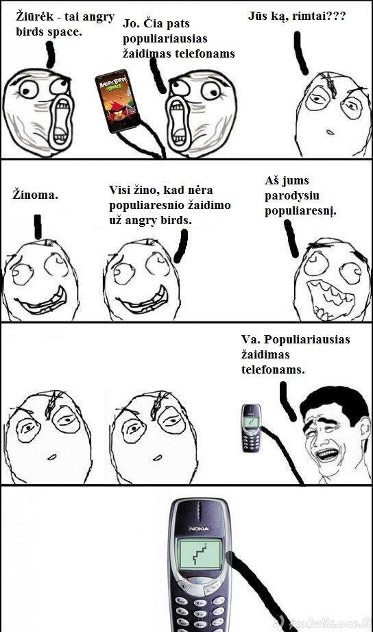 Populiariausias žaidimas telefonams