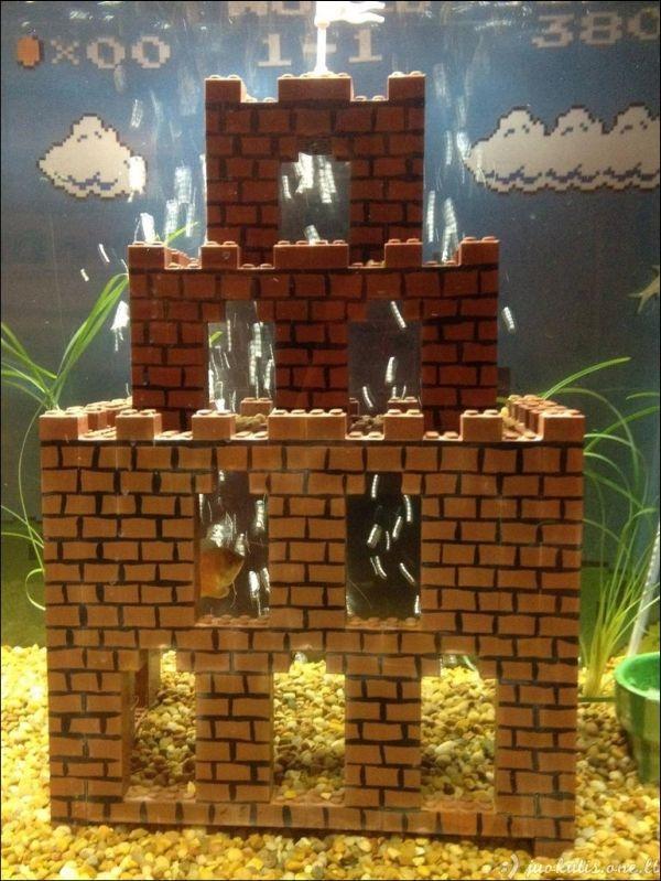 Super Mario akvariumas
