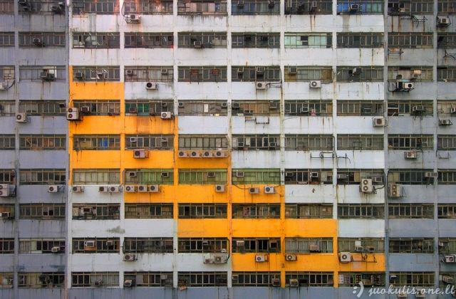 Neįtikėtini Honkongo daugiabučiai