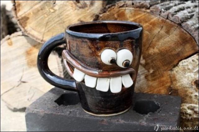 Žiauriai kieti puodeliai